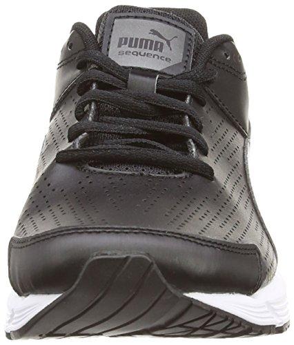 Puma - Sequence Sl W, Scarpe da corsa Donna Nero (Nero (Blk/A.Silver))