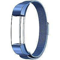 Fitbit Alta HR und Alta Armband Sport, Swees Edelstahl Uhrenarmband Mailänder Magnetschleife Edelstahlband Ersatz Armband Für Fitbit Alta HR und Alta