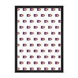 Schwarz Esche Bilderrahmen, A1 Größe, 59.4 x 84 cm,