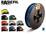BASICFIL PLA Verschiedene Farben 1.75 mm 500gr, 3D Drucker Filament für FDM/FFF