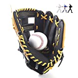 Gant De Baseball Sport Softball Gants Unisex Outfield Gant pour Enfants Adulte11.5inch