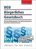 BGB - Bürgerliches Gesetzbuch Ausgabe 2017: Mit den Nebengesetzen zum Verbraucherschutz, Mietrecht und Familienrecht bei Amazon kaufen