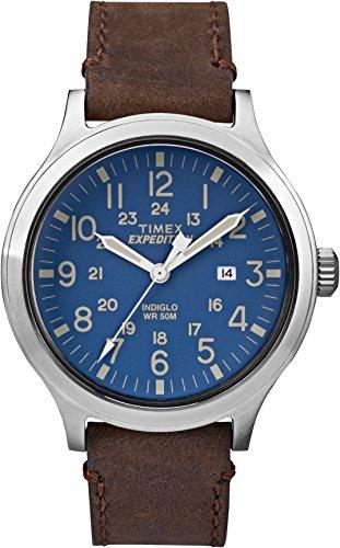 Timex Expeditoin Scout Hommes Analogique-Digital Quartz Montre avec Bracelet en Cuir TW4B06400