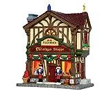 FEZZIWIG'S CHRISTMAS SHOPPE Edificio Illuminato Lemax CADDINGTON VILLAGE Cod 45742