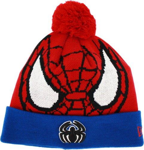 Spiderman New Era Woven Biggie Cuffed Knit Hat Cappello