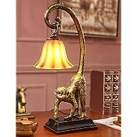 MZMZ regali di Natale illuminazione natalizia l Europa e gli Stati Uniti per ripristinare antichi modi/resina/scimmia/lampada da scrivania ,
