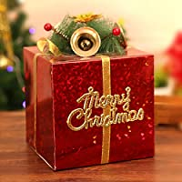 KYWBD Adornos de árbol de Navidad Caja de Regalo,Adornos navideños-F