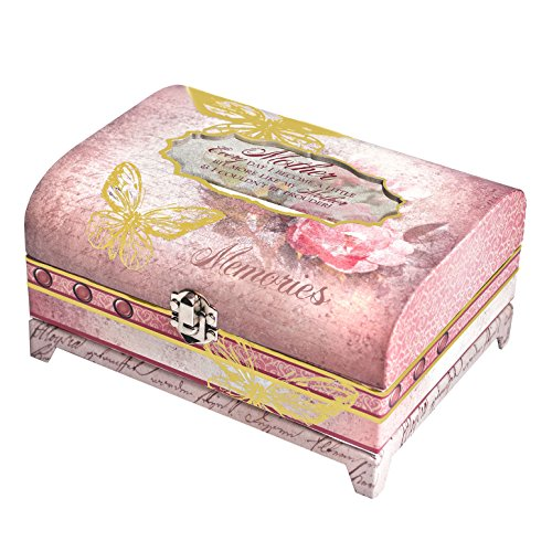Cottage Garden Butterfly Collection Jewellery Box Gift sul petto con