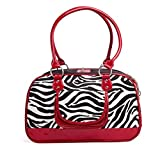 Nome prodotto: Borsa zebra in PUDimensioni del prodotto: 40 cm * 25 cm * 18 cmColore del prodotto: rosso, neroDescrizione del prodotto: Borsa da viaggio comoda e comoda, in modo che il bambino in qualsiasi momento possa accompagnarti per andare ovunq...