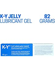 K-Y Jelly Premium Water Based Gel Lubricant, 82g
