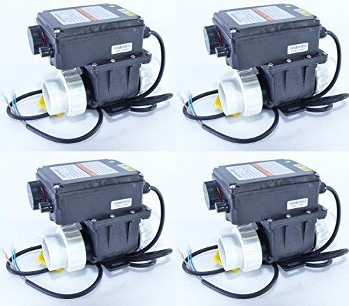 Whirlpoolheizung / Schwimmbadheizung / Wärmetauscher von 1000Watt bis 3000Watt mit Thermostat und Durchflusssensor. (2,0kW)