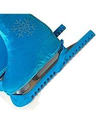 Azul patines de hielo Establece Piezas Deportes y aire libre Recreación Patín en línea