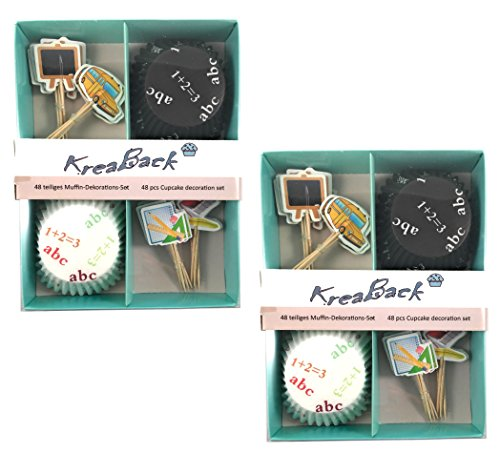 kreaback-muffin-and-cupcake-decorating-set-school-paper-colourful-96-teiliges-set