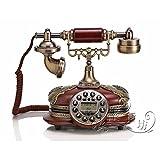 Scarica Libro MATAQI Legno di qualita classica telefoni antichi telefono fisso antico telefono retro (PDF,EPUB,MOBI) Online Italiano Gratis
