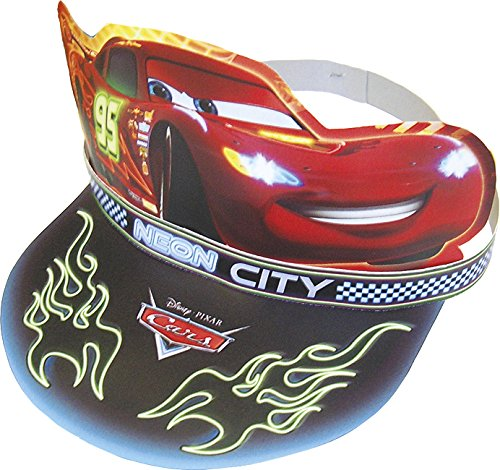 Disney NEON Cars Party Hüte, 6 Stück (Party Mcqueen Packs Lightning)