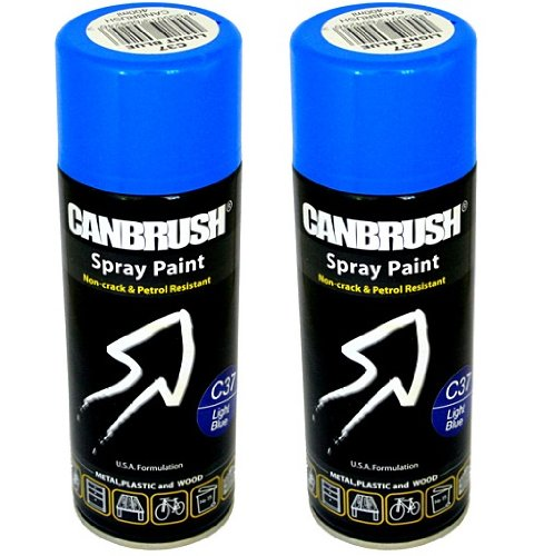 2-x-canbrush-spray-paint-for-metal-plastic-wood-400ml-gloss-finish-light-blue