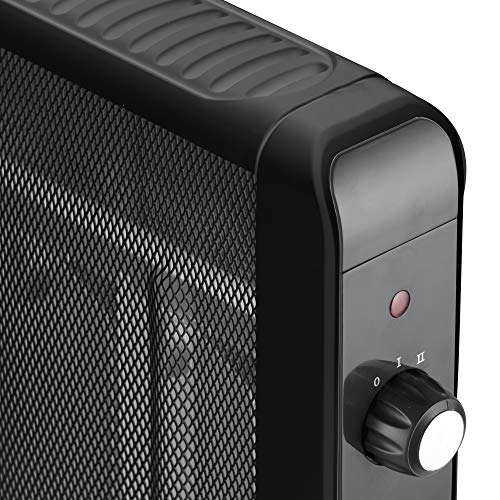 51FIuL4xr%2BL. SS500  - Warmlite WL43009 Portable Electric Oil Free Mica Radiator with Adjustable Thermostat, Overheat and Anti Frost Protection…