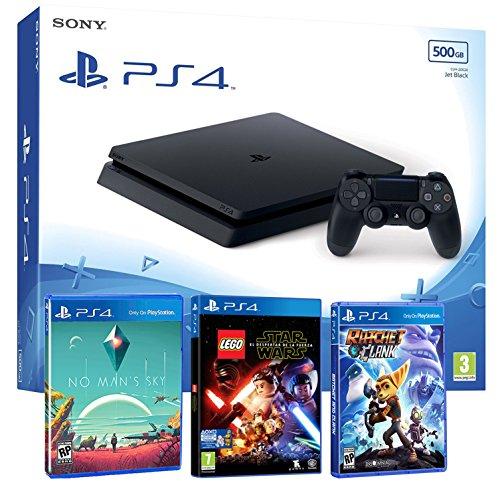 Sony tabz4 Slim 500Gb Slim 500Gb - Pack Infantil 3 Juegos - PEGI 7 (Fifa Juegos De)