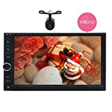 Eincar 7'Lollipop Android Stereo 5.1 Auto Doppio Din Radio Auto in Dash Touchscreen 1080P Video Player GPS Quad-Core di navigazione Sat Nav, supporto Wifi Bluetooth RDS USB/SD / 3G / 4G / OBD2
