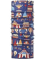 Original Buff Circus Royal Blue - High UV Protection para niños hasta 3-9 años, diseño estampado