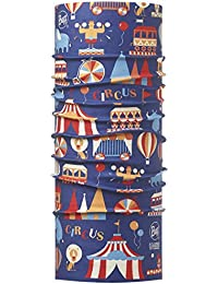 BUFF ENFANT Foulard multifonctionnel haute protection UV ZIRKUS, blue, Gr.50-55