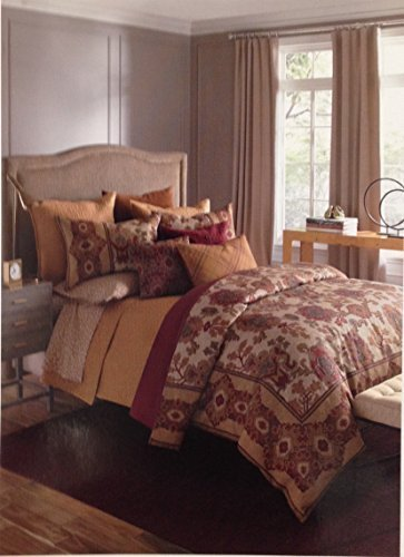 bloomingdales-1872-harlow-100-cotton-quilted-king-pillowsham-gold-by-unknown