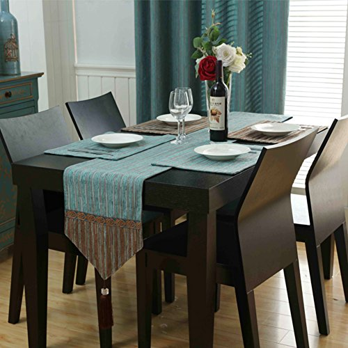 Tischläufer Couchtisch matte dekorative tischläufer tv-schrank flagge der west tabelle tuch tischläufer-A 32x180cm(13x71inch)