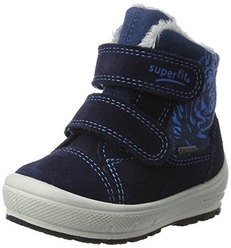Superfit Jungen Groovy Schneestiefel, Blau (Ocean Kombi), 24 EU