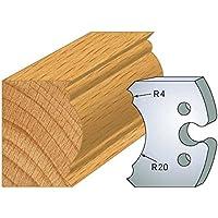 Luxoutils 242 - Juego de 2 herramientas para las patas de la mesa, 50 mm de alto, para sujetar herramientas entre ejes de 24 mm