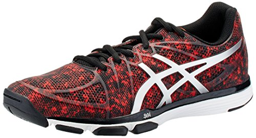 Asics-Mens-Exert-Tr-Cherry-Tomato-Silver-and-Onyx-Mesh-Multisport-Training-Shoes-8-UK