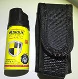 Rsonic Pfefferspray K.O. - Fog - 40ml Abwehrspray inkl. Cordura Holster