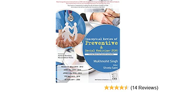 Buy Conceptual Review of Preventative & Social Medicine (PSM
