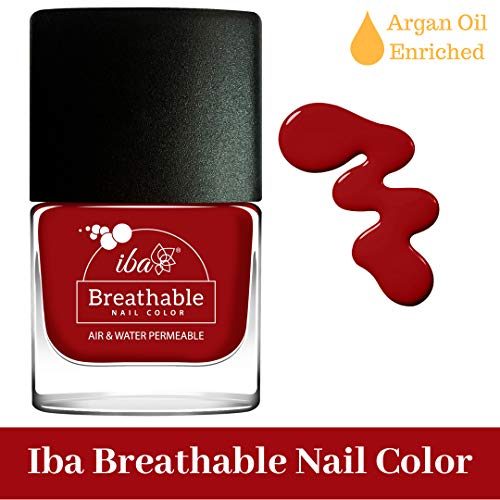 Iba Halal Care Breathable Nail Color, B10 Wedding Bells, 9ml