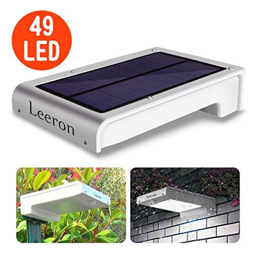 Farola solar Leeron 49 LED