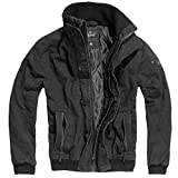 Brandit Herren Jacke Pike Road, (Schwarz 2), Medium