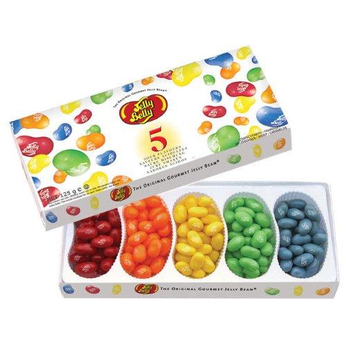 Jelly Belly, Beans, Geleebonbons, Kaubonbons, Saure Mischung Geschenkpackung, 125g