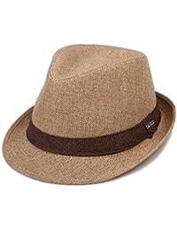 HX fashion Cappello Estivo Cappello di Paglia Berretto da Uomo Uomo Taglie  Comode Unisex Berretto da 2df4b3135691