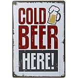 20x30cm Placa Chapa Cartel Póster de Pared Metal Arte Decoración para Bar de Cerveza Cafetería # 6