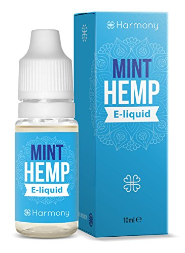 Harmony CBD Liquid mit 100mg Cannabidiol - 10ml - Minze Hanf Geschmack (nikotinfrei)