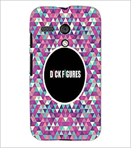 PrintDhaba Quote D-4041 Back Case Cover for MOTOROLA MOTO G (Multi-Coloured)