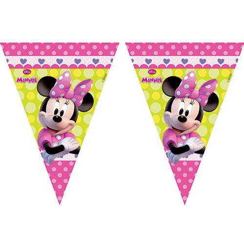 Image of 2.3m Disney Minnie Mouse Bunting Flags