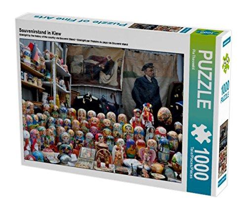 Preisvergleich Produktbild Souvenirstand in Kiew 1000 Teile Puzzle quer (CALVENDO Orte)