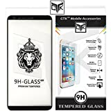 TheGiftKart OnePlus 5T Korean Full Glue Edge-To-Edge Tempered Glass Screen Protector (Black)