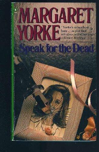 Speak For the Dead (Penguin Crime Monthly)