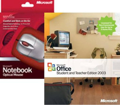 Office 2003 Standard for Student & Teacher Edition 2003 with Optical Mouse