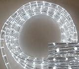15 Meter LED Lichtschlauch 12 V - weisse LED - 36 LED je Meter - ca. 15 Meter
