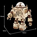 Robotime Laser Cut Wooden Puzzle-DIY Mechanism Music Box-Wooden Model Building-Birthday for Kids and Adults 5