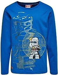 Lego Wear Boy Ninjago Teo 103-T-Shirt L/S, Hauts à Manches Longues Garçon