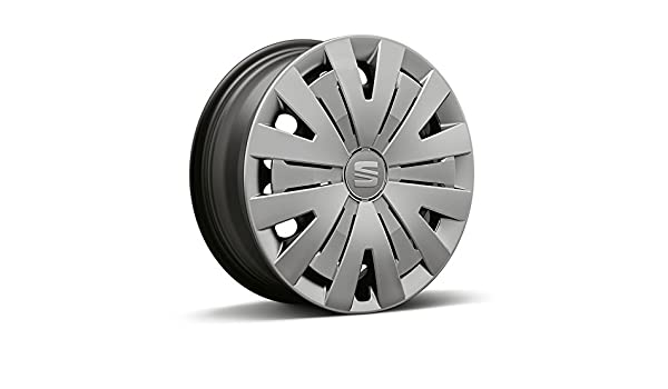 4x Seat original wheel trims, hub caps 15 inches Seat Ibiza: Amazon.co.uk: Car & Motorbike
