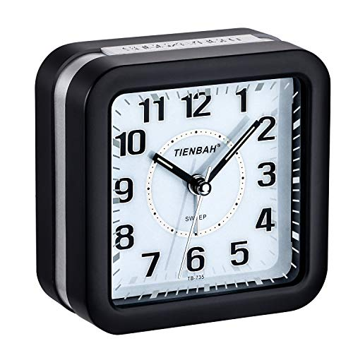 PINGHE Niños Despertadores,Despertadores Despertadores Analógicos para Niños Despertador Silencioso...
